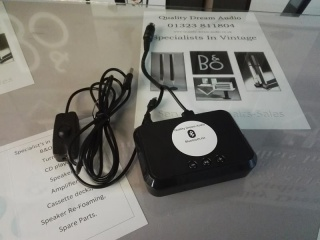 COMPATIBLE BLUETOOTH RECEIVER WITH TRIGGER