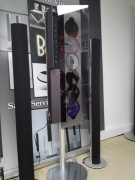 BEOSOUND 9000 MK 1 ON VERTICAL STAND WITH BEOLAB 6000 SPEAKERS
