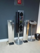 BEOLAB 12.3 SPEAKERS AND STANDS